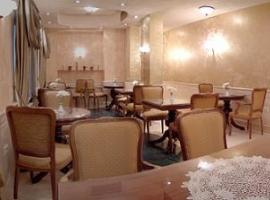 Breakfast room in stag parties friendly hotel
