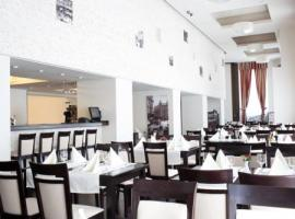 Dining facilities of luxury hotel