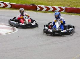 Speed, adventure and wind in hair are part of the go-karting competition