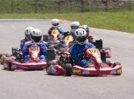 Racers are really enthusiastic to karting