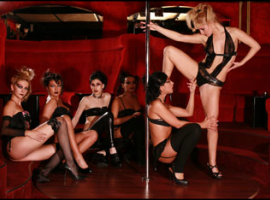 Female strippers in most luxurious Bucharest lap dancing club