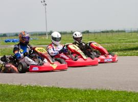 Outdoor Go Karting in Bucharest, Romania