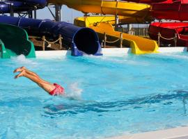 Daytime activity - slides, pools, bars, restaurants and more in Bucharest