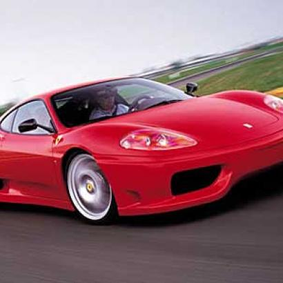 Luxurious ride on Ferrari 360 modena in Bucharest