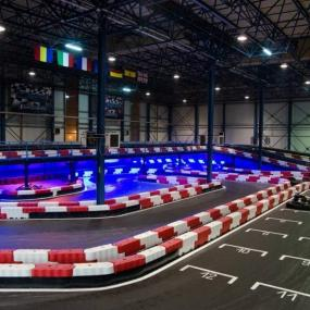 Indoor go karting in Bucharest