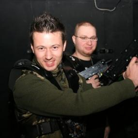 Laser Quest in Bucharest